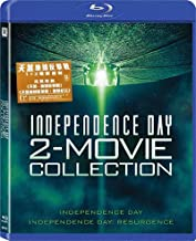 Independence Day 1+2 (Region A Blu-Ray Set) (Hong Kong Version / Chinese subtitled) 2 Movie Collection 天煞地球反擊戰1+2電影套裝