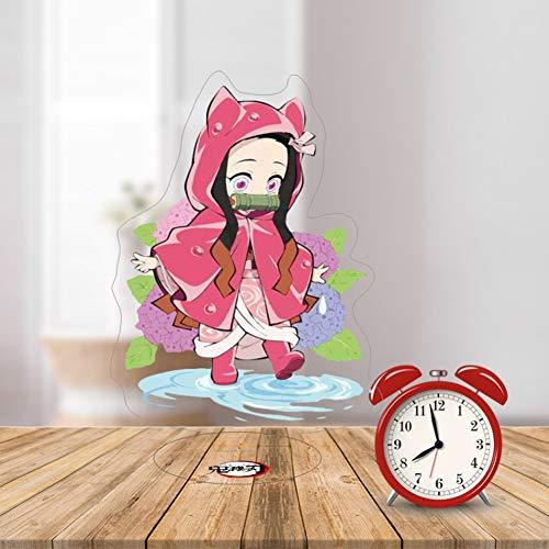 Ailin Online Demon Slayer Japan Anime Minifiguren Tisch Puppe Home Office Display Ständer Dekoration (Kamado Nezuko)