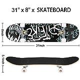 Zoom IMG-2 weskate completo skateboard per principianti