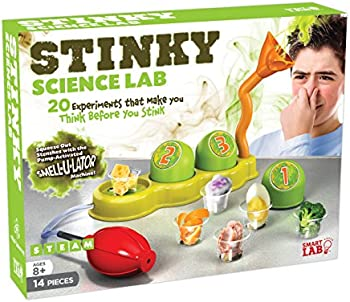 SmartLab Toys Stinky Science Lab 20 Stinky Experiments