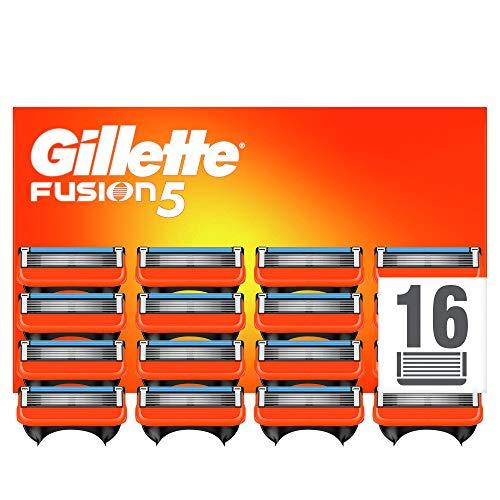Gillette Fusion5 Scheermesjes Voor Mannen, 16 Stuks