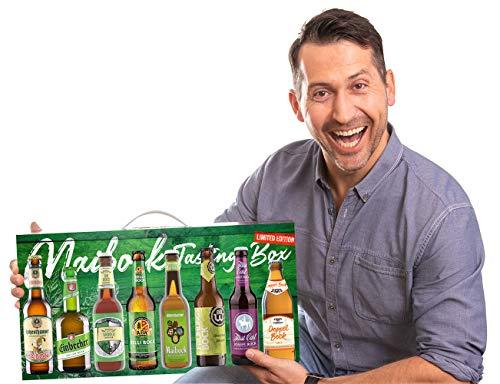 Kalea Maibock Tasting Box| Geschenkidee | Bier-Spezialitäten | Geschenk-Karton mit Henkel | Flaschenbiere von Privatbrauereien