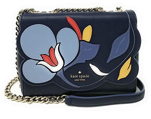 Kate Spade Emelyn Leather Handbag Multi Crossbody Appliqued