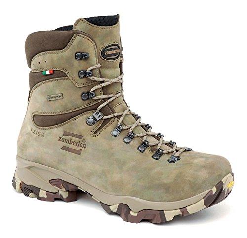 Zamberlan Men's 1014 Lynx MID GTX Leather Hunting Boots Beige Size: 12 Wide