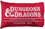Jay Franco Dungeons & Dragons Red Box 1 Single Reversible Pillowcase - Super Soft Bedding (Official Dungeons & Dragons Product)