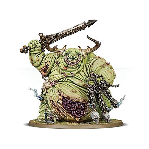 Daemons of Nurgle Great Unclean One Warhammer Age of Sigmar 40.000