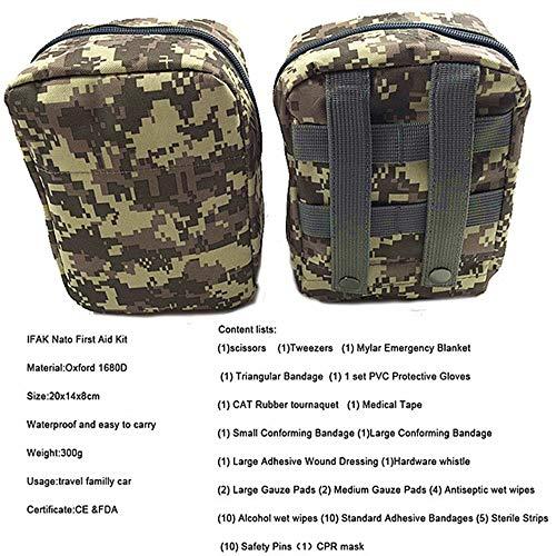 SMFYY outdoor reizen draagbare camouflage EHBO-kit medicijntas bergredingsset familievoertuig noodkit