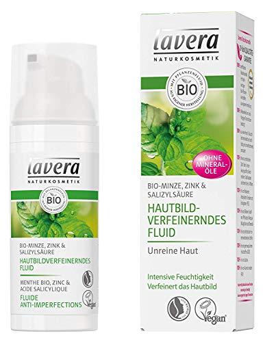 Lavera Hautbildverfeinerndes Fluid Bio-Minze 3er Pack (3 x 50ml)