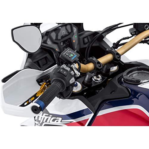 Oxford Motorradgriffe Heizgriffe für 22mm Premium Adventure OF690, Unisex, Multipurpose, Winter, Gummi, schwarz
