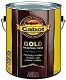 Cabot 140.0003473.007 Gold Deck Varnish, Gallon, Moonlit Mahogany