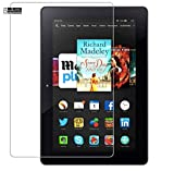 CAIDEN GUARDS 9H Unbreakable Screen Protector Guard For AMAZON KINDLE FIRE HDX (8.9 Inch) Full Screen Coverage (Except Edges) With Installation Kit