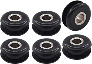 Pack of 6 Gas Fuel Tank Mounts Rubber Grommets for Harley Heritage Softail Springer Bad Boy Fatboy