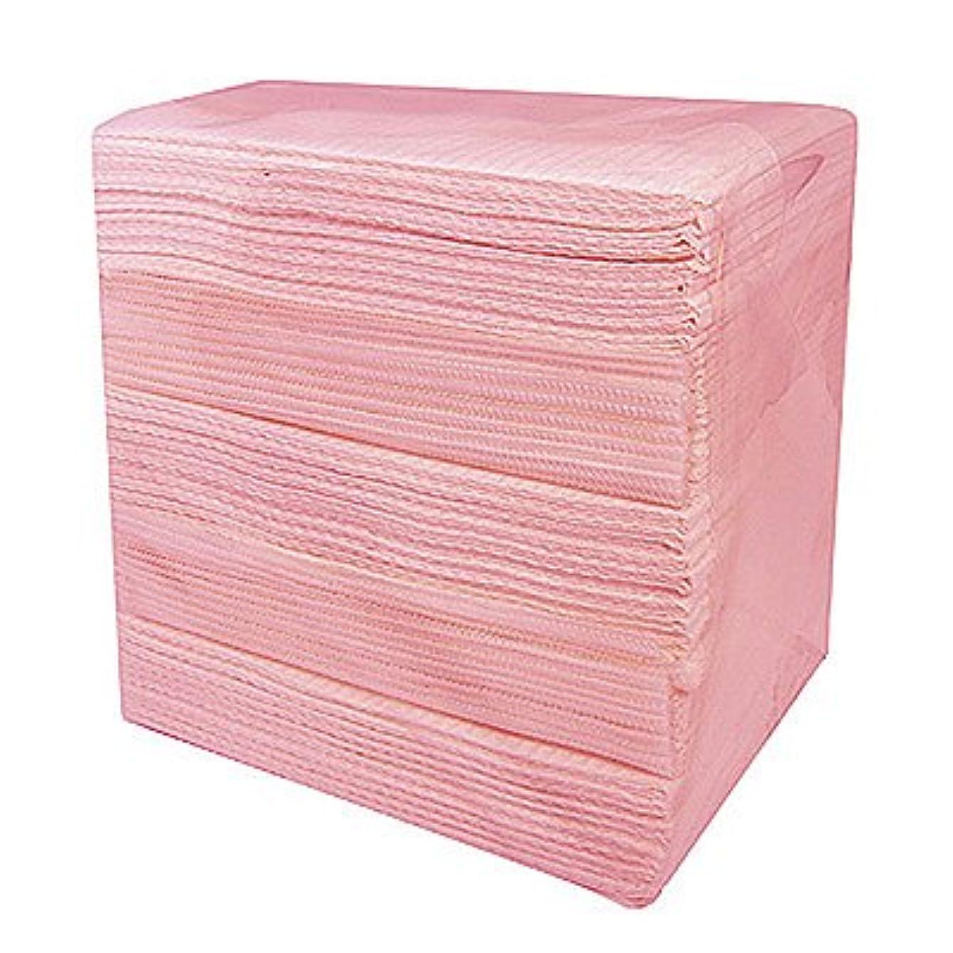 ありふれた単調な固体完全防水ネイルペーパー ピンク 50枚入