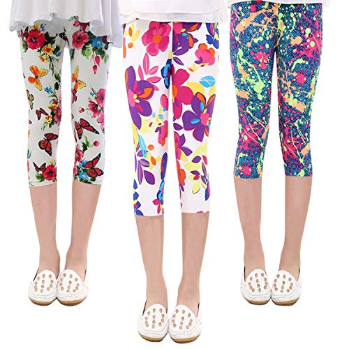 2-3 Pcs Kids Girls Leggings Chil...