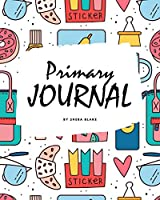 Primary Journal Grades K-2 for Girls (8x10 Softcover Primary Journal / Journal for Kids)