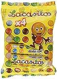 Lacasitos 4 Tubos de Gragea de Chocolate, 80g