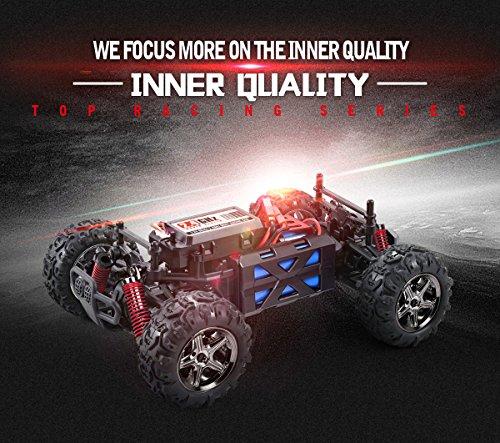 RC Auto kaufen Truggy Bild 3: SUBOTECH BG1510 LYL Ferngesteuerte Autos f r Draussen, RC Auto Elektrisch 4WD 1 24 RTR 40km h, 2 4ghz, Orange*