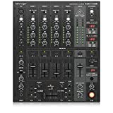 Behringer DJX900USB PRO Mixer Professional 5-Channel DJ Mixer with Optical VCA Crossfader, Digital