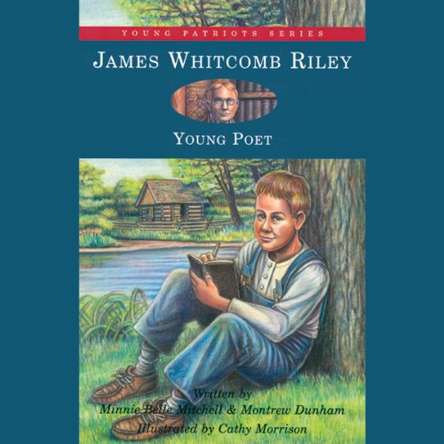 James Whitcomb Riley audiobook cover art