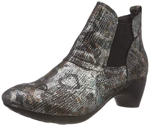 Think! Damen NIAH_383156 Chelsea Boots, Mehrfarbig (09 Sz/Kombi), 39.5 EU