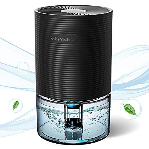UGHEY Dehumidifier Small Dehumidifiers Mini Electric Dehumidifiers, Air Cleaner, Portable and Compact Ultra Quiet for Home, basements, Bedroom, Bathroom, Garage, Wardrobe, RV