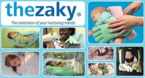 The Zaky Bonding & Positioning by Nurtured by Design - Color: Sky Blue - One Pair– Ergonomic Sleeping Support with Washing Bag- Excellent Physical & Psychological Support for Preemies & Infants
