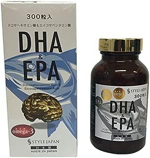 スタイルジャパン DHA&EPA 300粒 90g 日本製