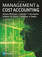 Management & Cost Accounting