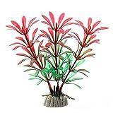 1 pieza de 5 a 12 cm para decoración de acuario de hierba de agua, adorno de plástico para plantas de pecera, acuario, accesorios para decoración de acuario, M
