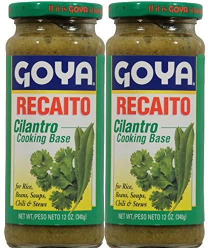 Goya Recaito Culantro Cooking Base 12oz (Pack of 02)