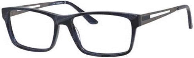 CLAIBORNE Eyeglasses 311 0E84 bluee Horn 54MM