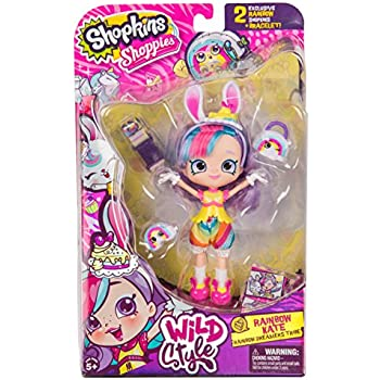 Shopkins Season 9 Wild Style Shoppies - Rainb | Shopkin.Toys - Image 1