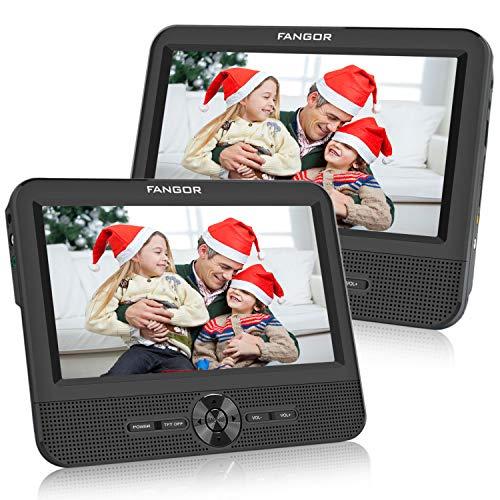 FANGOR Double Ecran 7.5'' Lecteur DVD Portable Voiture 1024 * 600 avec de Puissants...
