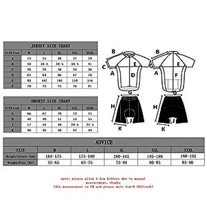 Feilaxleer Ropa Ciclismo Otoño/Invierno/Primavera para Hombre y Mujer - Ciclismo Maillot MTB de Manga Larga y Culotte Pantalones Acolchado 3D