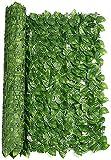 Seto Artificial Huertos urbanos Vallas decorativas Ivy Privacy Fence Vine Privacy Fence Pantalla de pared para decoración al aire libre Jardín Artificial Ivy Privacy Fence Screen Outdoor Garden Priv