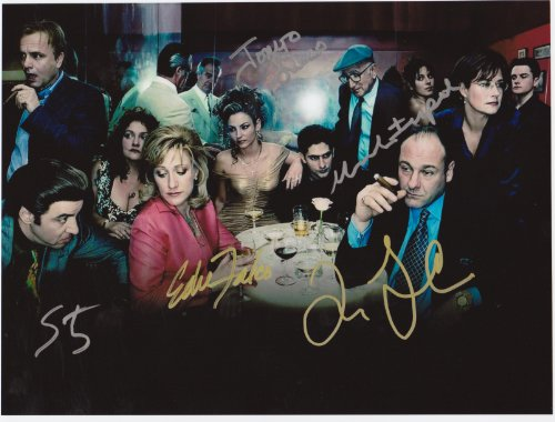 Kirkland The Sopranos 8 X 10 Classic TV Poster Autograph on Glossy Photo Paper