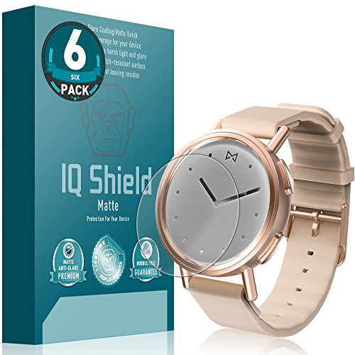 IQ Shield Matte Screen Protector Compatible with Misfit Path (6-Pack) Anti-Glare Anti-Bubble Film