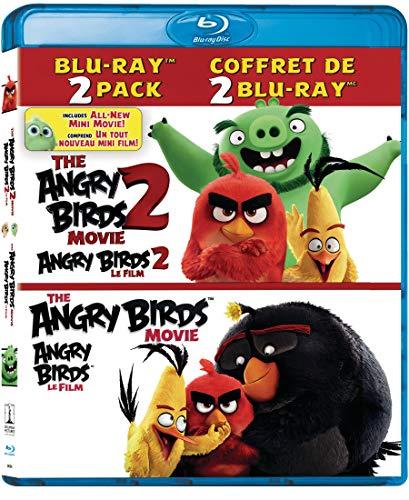 The Angry Birds Movie 2 / Angry Birds Movie - Set [Blu-ray] (Bilingual)