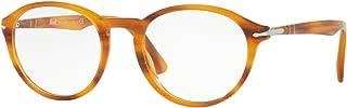 PO3162V Calligrapher Edition Eyeglasses 50-20-145 Striped Brown w/Demo Clear Lens 960 PO 3162-V PO3162-V PO 3162V
