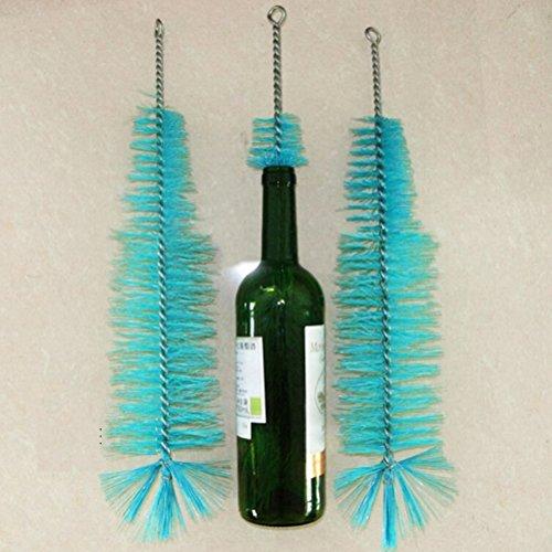 XKMY Cepillo de limpieza 1 unids 44 cm Nylon Botella Limpieza Cepillo Vino Cerveza Inicio Brew Tubo Caño Limpiador de Cocina Herramientas de Limpieza