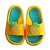 NUSGEAR Enfants Pantoufles de Bain Pantoufles Maison d'été Piscine et Plage Doux Sandales de Pantoufles pour Garcon et Filles Antidérapant Mignon pour Bain Chaussons Garcon et Filles Tongs Sandales