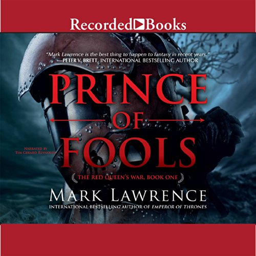 Prince of Fools     The Red Queen's War, Book 1              Auteur(s):                                                                                                                                 Mark Lawrence                               Narrateur(s):                                                                                                                                 Tim Gerard Reynolds                      Durée: 14 h et 38 min     40 évaluations     Au global 4,2