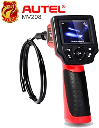 Autel Maxivideo MV208 Digital Videoscope with 8.5mm Diameter Imager Head Inspection Camera MV 208 Multipurpose Videoscope : United States