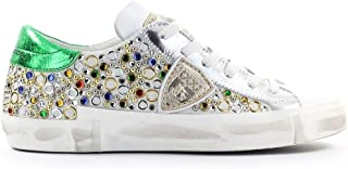 Philippe Model Luxury Fashion Womens PRLDHSC1 White Sneakers |