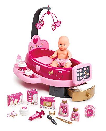 Smoby - 220317 - Baby Nurse - Nursery Electronique - + 1 Poupon et 22 Accessoires Inclus