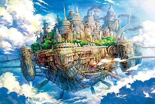 LFZY Puzzle de Madera 300 Piezas-Juego de Juguete para niños Adultos Rompecabezas clásico Decoración Regalo-Castillo Misterioso