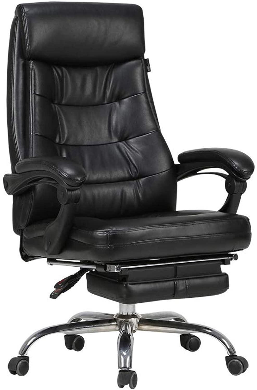 Office Chair, Executive Chair HighGrade PU Leather Adjustable Height Ergonomic Design Swivel Chair Reclining redary Lift Armrest