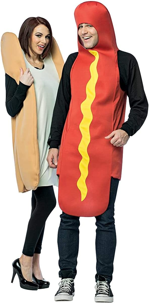 Hot Dog Very popular Bun In a popularity Costume Couples