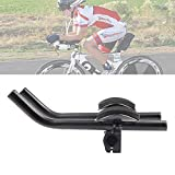 DRCKHROS TT Bars Bicycle Bike Handlebar Rest Bar Aluminum Alloy Black for Mountain Road Bicycle Bike...