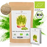 MAISON NATURELLE ® BIO Gerstengras Pulver (500 g) - 100% reines Bio Gerstengras Pulver ohne Zusätze - Reich an Mineralien & Vitaminen...